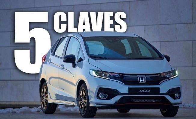Las 5 claves del nuevo Honda Jazz 2018