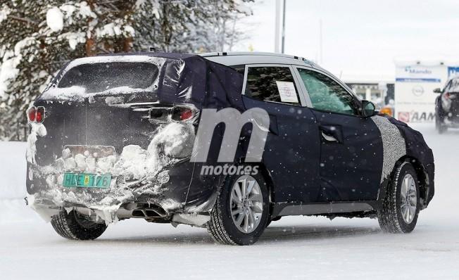 Hyundai Tucson 2019 - foto espía posterior