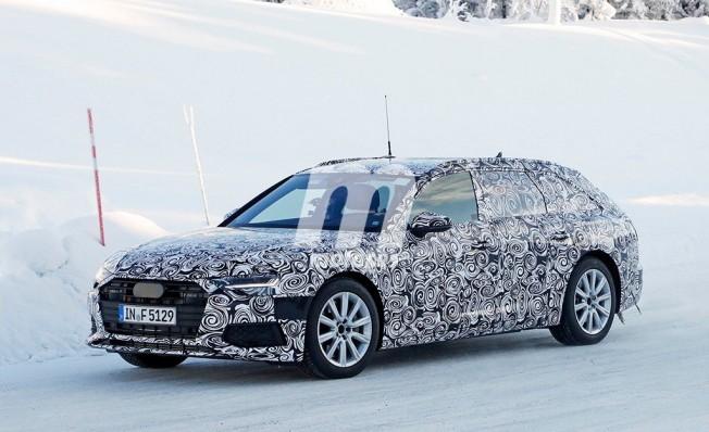 Audi A6 Avant 2019 - foto espía