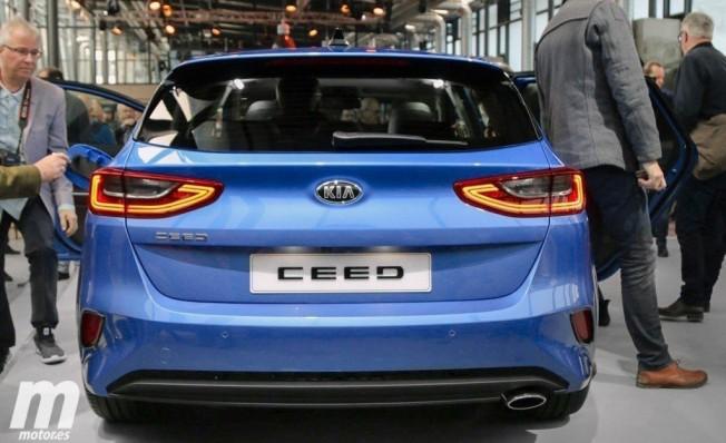 Kia Ceed 2018 - posterior