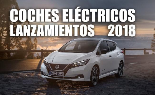 Lanzamientos de coches eléctricos en 2018