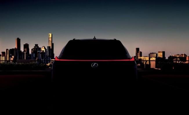 Lexus UX - teaser