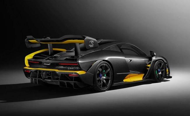 McLaren Senna Carbon Theme - posterior