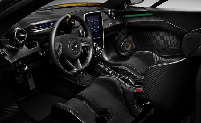 McLaren Senna Carbon Theme - interior