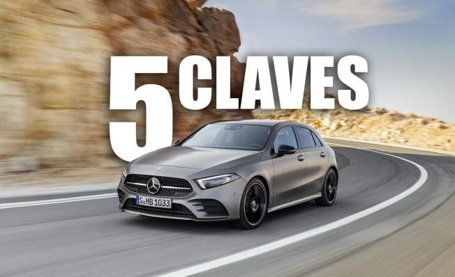 Las 5 claves del nuevo Mercedes Clase A 2018