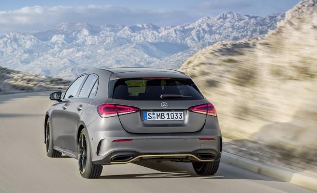 Mercedes Clase A 2018 - posterior