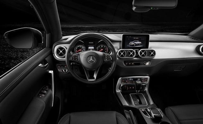 Mercedes Clase X 350 d 4MATIC - interior