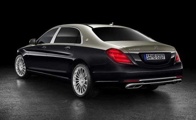 Mercedes-Maybach Clase S 2018 - posterior
