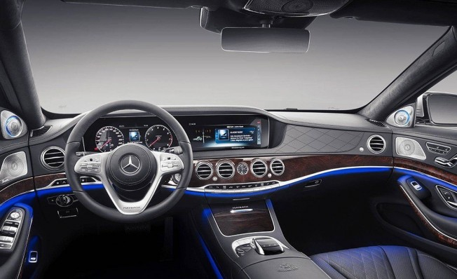 Mercedes-Maybach Clase S 2018 - interior