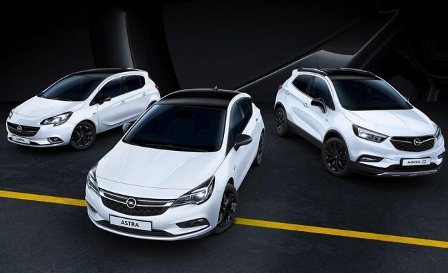 Edición especial Black Edition de Opel