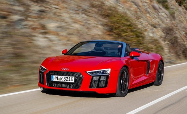 Audi R8 V10 RWS Spyder