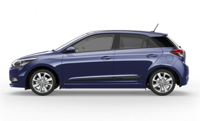 Hyundai i20 Go! - lateral