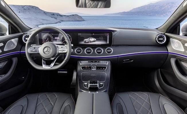 Mercedes Clase CLS 2018 - interior