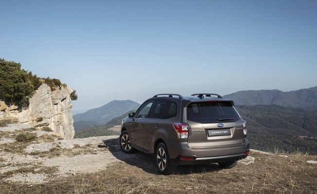 Subaru Forester 2018 - posterior