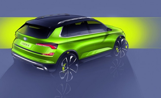 Skoda Vision X Concept - posterior