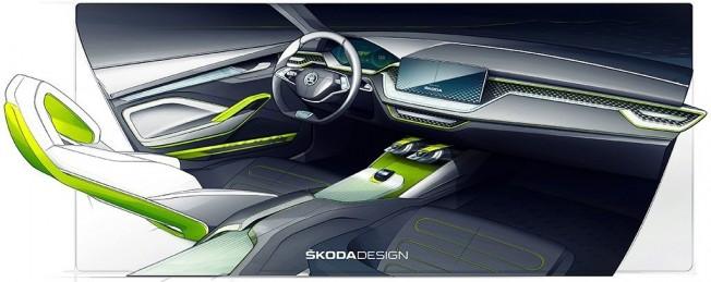 Skoda Vision X Concept - interior