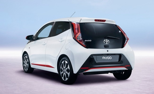 Toyota Aygo 2018 - posterior