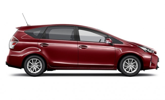 Toyota Prius+ 2018 - lateral