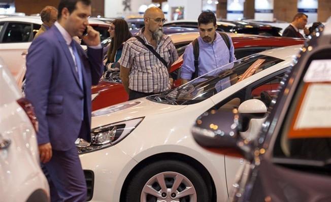 Ventas de coches de ocasión en España - Enero 2018