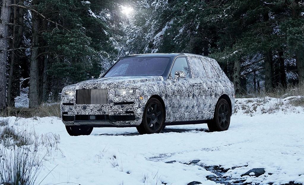 Rolls-Royce Cullinan: así será llamado el SUV de la doble erre