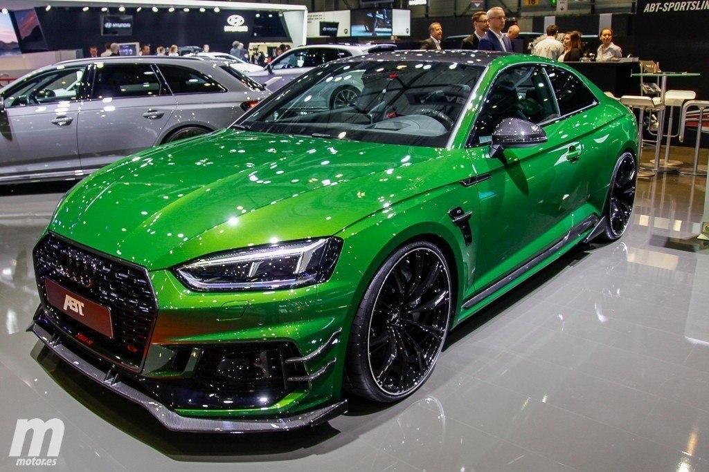 Abt Rs5 R Haciendo Del Audi Rs 5 Coupe Una Bestia Mas Temida Motor Es