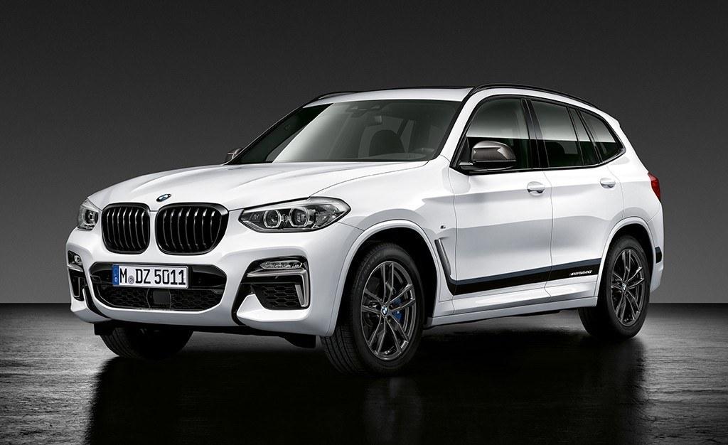 El nuevo BMW X3 2018 recibe los accesorios M Performance