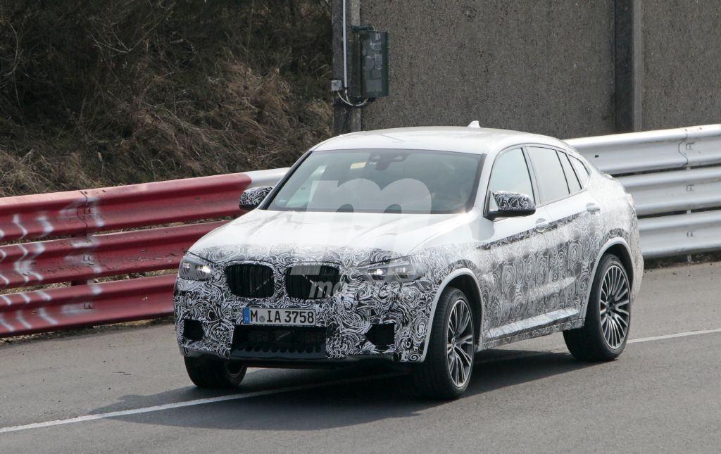 El futuro BMW X4 M afronta sus pruebas en el circuito Nürburgring
