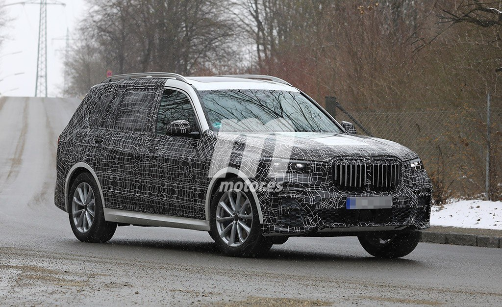 El desarrollo del BMW X7 continúa a marchas forzadas