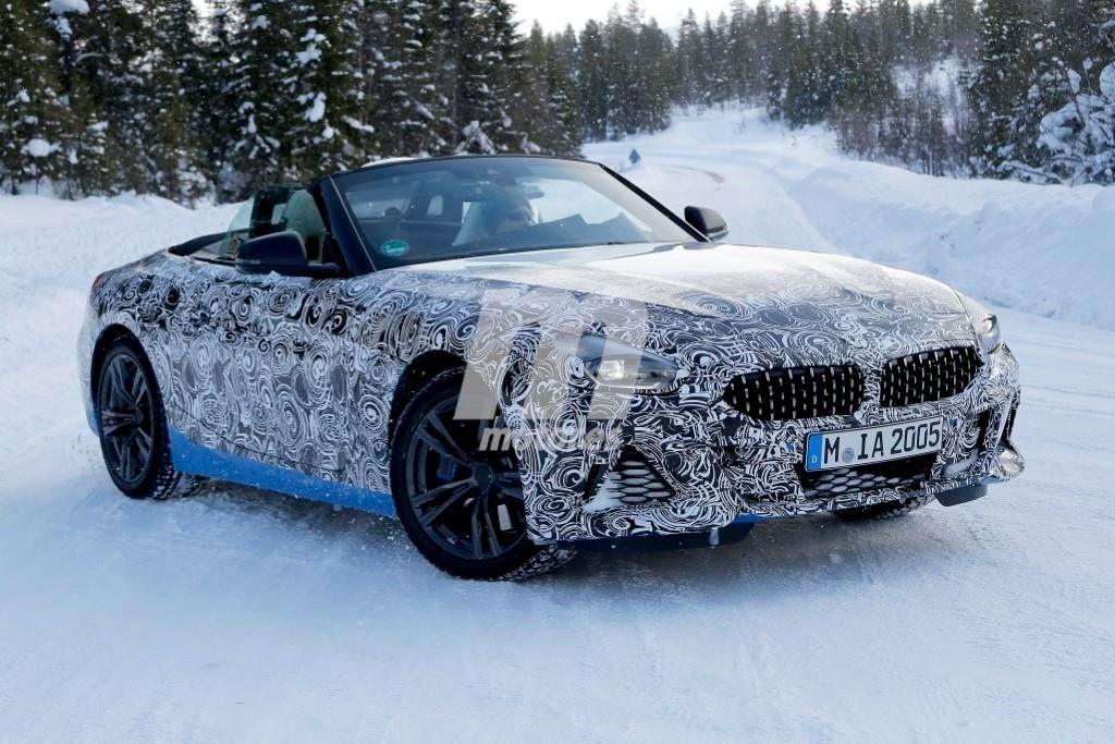El nuevo BMW Z4 2018 continúa con sus test de invierno en Europa