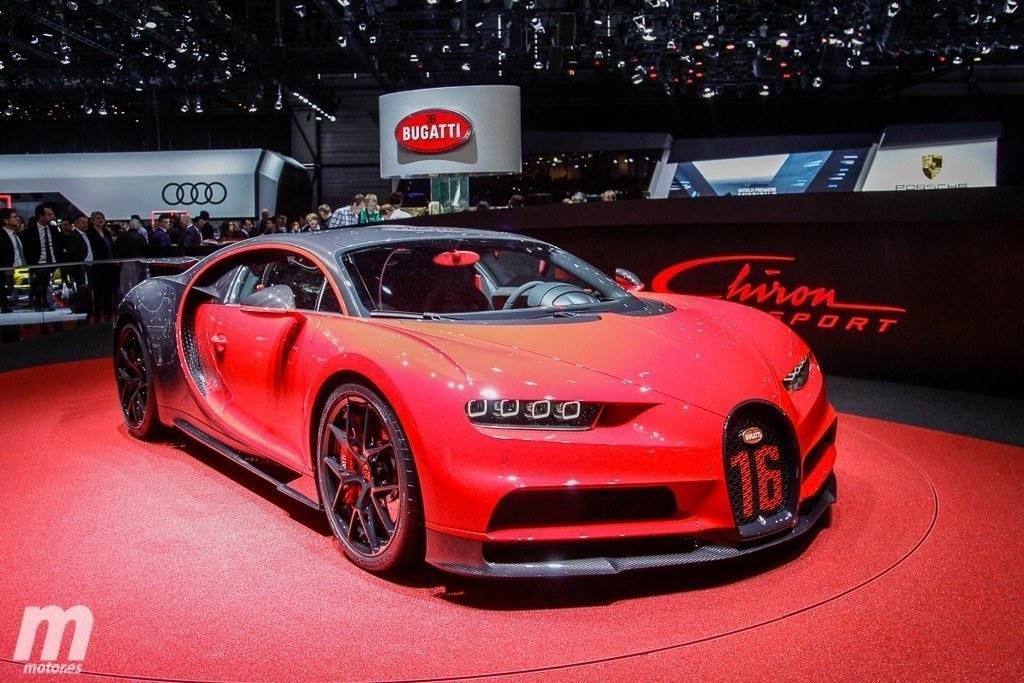 Bugatti Chiron Sport: más ligero y con una imagen radicalizada