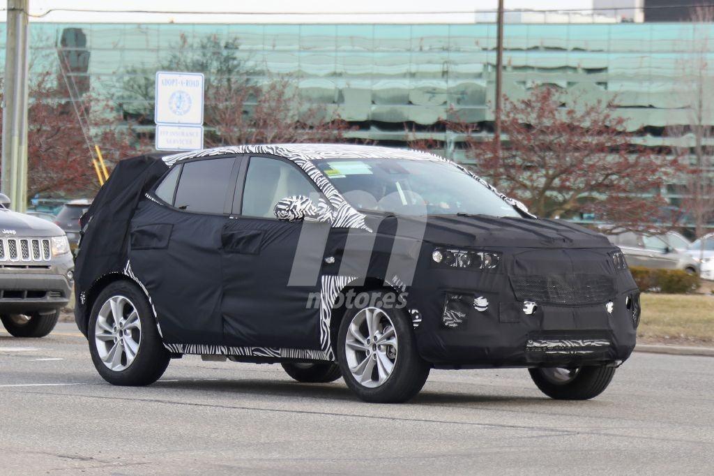 La nueva generación del Buick Encore, cazada en pruebas en Estados Unidos