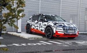 El nuevo Audi e-tron quattro será presentado el 30 de agosto de 2018 en Bruselas