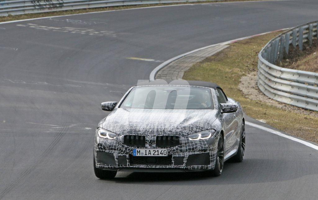 El nuevo BMW M8 Cabrio continúa sus pruebas asaltando el circuito de Nürburgring