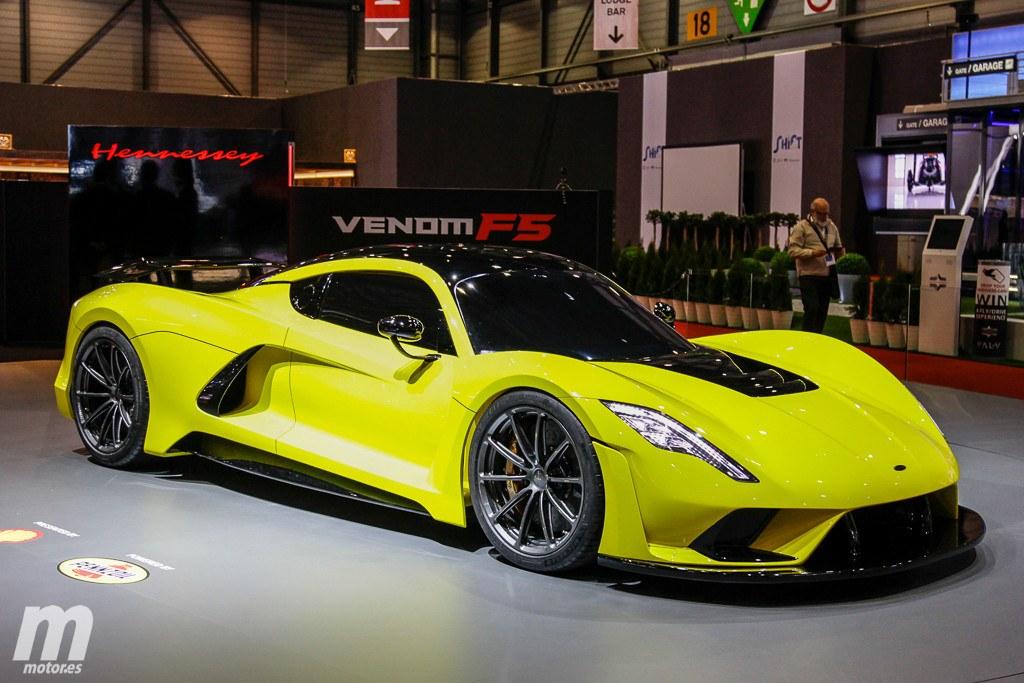 El Hennessey Venom F5 de 1.622 CV se estrena en Ginebra 2018