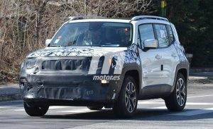 Un nuevo vistazo al Jeep Renegade 2019, cuyo desarrollo continúa en marcha