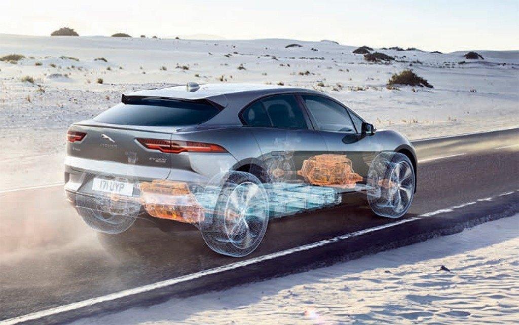 La tecnología a bordo del nuevo Jaguar I-PACE