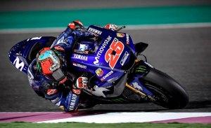 Maverick Viñales abre el test MotoGP de Qatar al mando