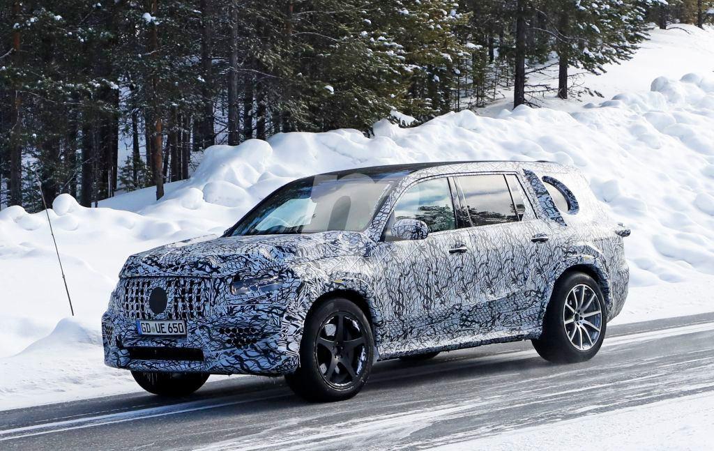 Mercedes-AMG GLS 63: las primeras imágenes del nuevo SUV de AMG