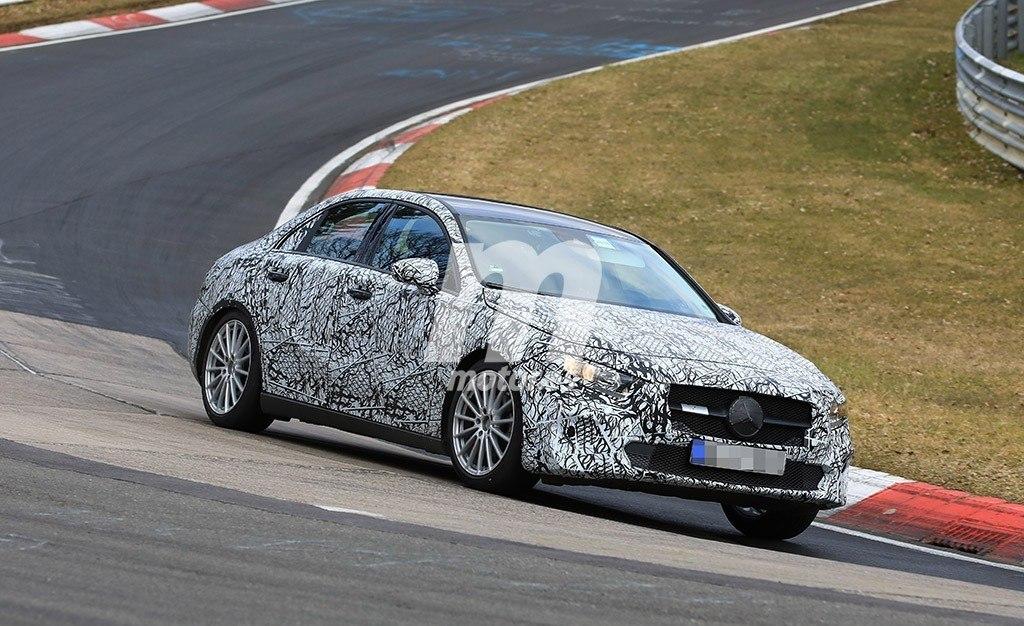 El esperado Mercedes Clase A Sedán ya rueda por Nürburgring