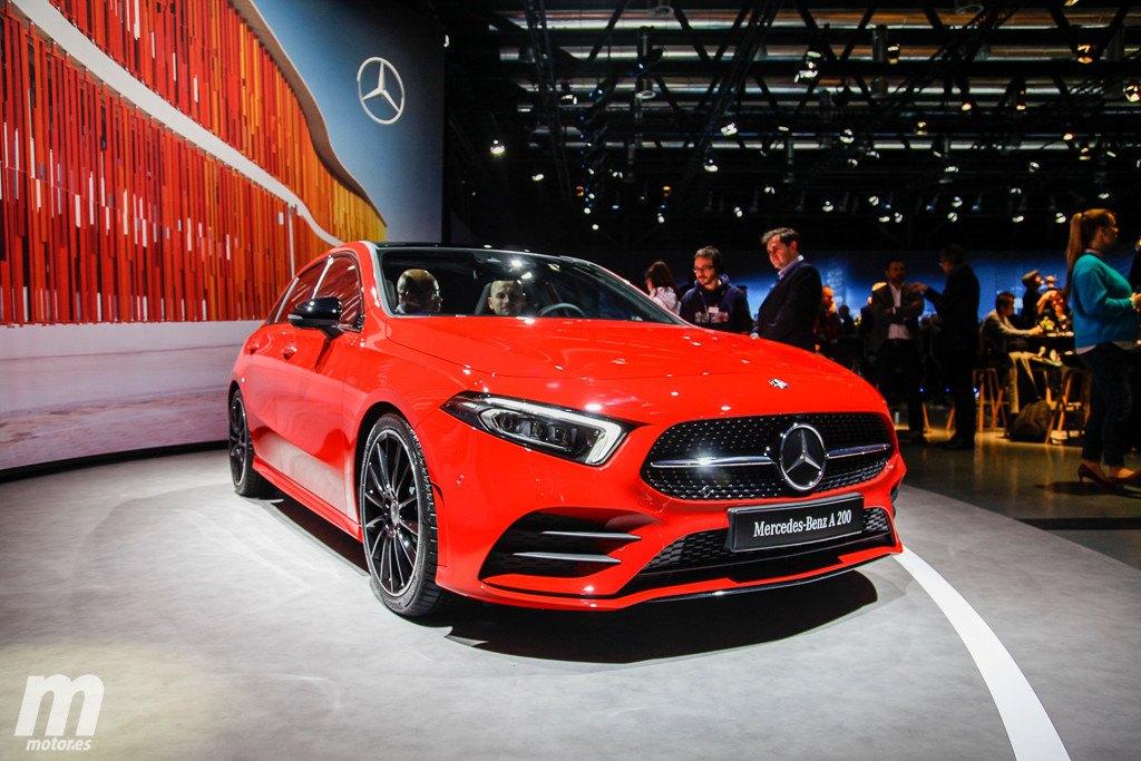 Mercedes Clase A: el nuevo compacto alemán desde su stand en Ginebra
