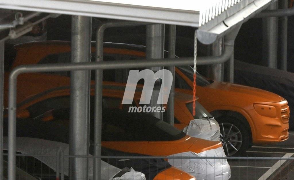 El nuevo Mercedes Clase GLB, al detalle, en estas nuevas fotos espía