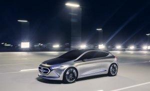 Mercedes registra nuevas denominaciones comerciales para los eléctricos EQA y EQB