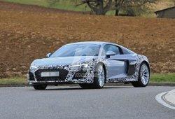 El nuevo Audi R8 V6 continúa sus pruebas ya con el diseño de producción
