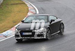 El esperado lavado de cara del Audi TT se enfrenta a Nürburgring