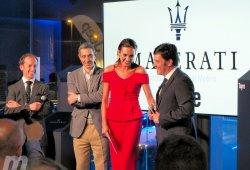 El concesionario Maserati Tayre en Majadahonda abre sus puertas de la mano de Nieves Álvarez