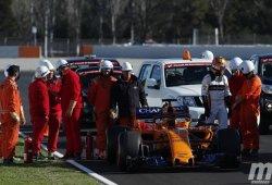 Día 5: Vettel realiza una demostración de fuerza, McLaren de debilidad