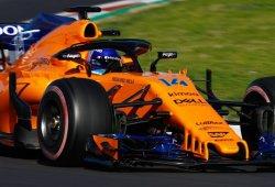 Día 8: Alonso devuelve la sonrisa a McLaren con un tiempazo a última hora
