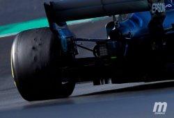 Drama con los neumáticos en Barcelona: blistering y graining