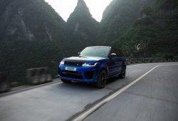 El nuevo Range Rover Sport SVR bate un nuevo récord en la revirada carretera china de Tianmen