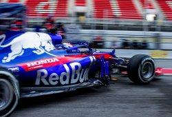 Pierre Gasly, Toro Rosso y Honda, más kilómetros que nadie en los test